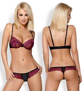 bdb0d437f0a Image is loading OBSESSIVE-842-Luxury-Super-Soft-Decorative-Underwired-Bra-