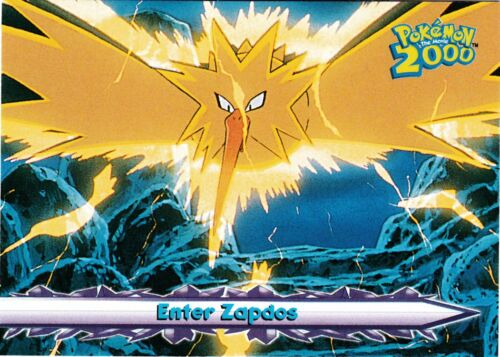 POKEMON THE MOVIE 2000 THE POWER OF ONE TOPPS CARD # 33 IN NEAR MINT CONDITION