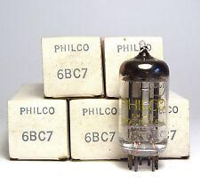 5x Philco 6bc7 triples diodo/rectificadores-tubo, 6 bc 7 radio tubes, nos