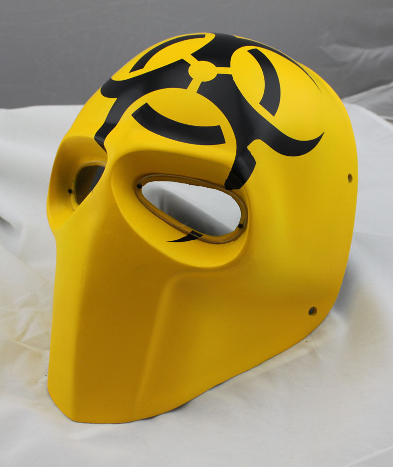Giallo Paintball BB Gun  Airsoft Full Face PC Lens Eye Prossoection Skull Mask