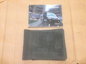 2002 Volvo V70 Mk2 P2 Owners Manual Hand Book Book Pack Portefeuille Pochette-afficher Le Titre D'origine 3xerjhju-07212828-373527620
