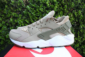 Nike Air Huarache 318429 200 Khaki Medium Olive White Khaki