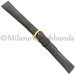 14mm-deBeer-Matte-Charcoal-Hand-Made-Genuine-Teju-Lizard-Ladies-Band-Regular
