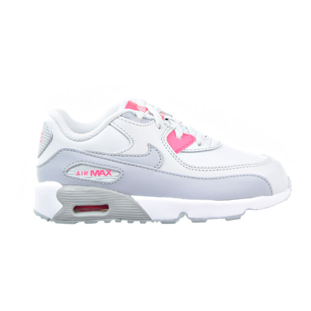 Nike Air Max 90 LTR Toddler Shoes Pure Platinum Wolf Grey