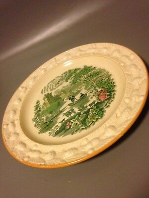 Adams Pottery, Porcelain & Glass The Cheapest Price W A Adams & Sons England Italian Scenery 10 Inch Dinner Plate Antique Majolica Refreshing And Enriching The Saliva