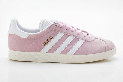 Adidas Gazelle W Originals Damen Sneaker Retro BY9352 pink weiß | eBay