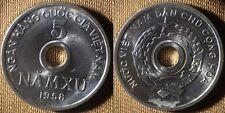 Vietnam North : 1958(S)  5 Xu  CH.UNC    # 7   IR4152
