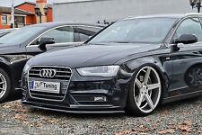 SONDERAKTION Spoilerschwert Frontspoilerlippe aus ABS Audi A4 B8 Facelift ABE