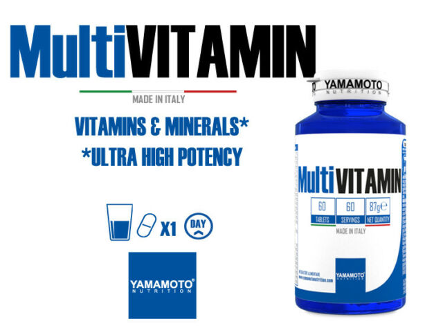 YAMAMOTO NUTRITION Multi Vitamin 60 compresse multivitaminico - minerale