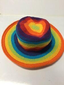 New-Bright-Rainbow-Festival-fishing-Boho-Unisex-Hippie-Hat