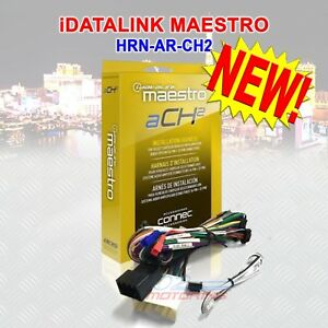 IDATALINK MAESTRO ACH2 T-HARNESS FOR SELECT CHRYSLER DODGE FIAT JEEP /& RAM CARS