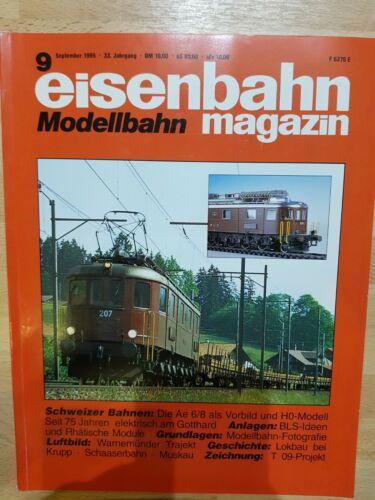 Eisenbahn Modellbau Magazin 1995 Ausgabe 01//02//03//04//05//06//07//08//09//10//11//12