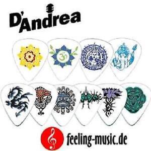 D-039-Andrea-Plecs-351-Tattoos-Set-12-Picks-Plektren-Thin