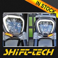ST1416 DUCATI  X DIAVEL BRIGHT LED FRONT TURN SIGNAL KIT ! In Stock