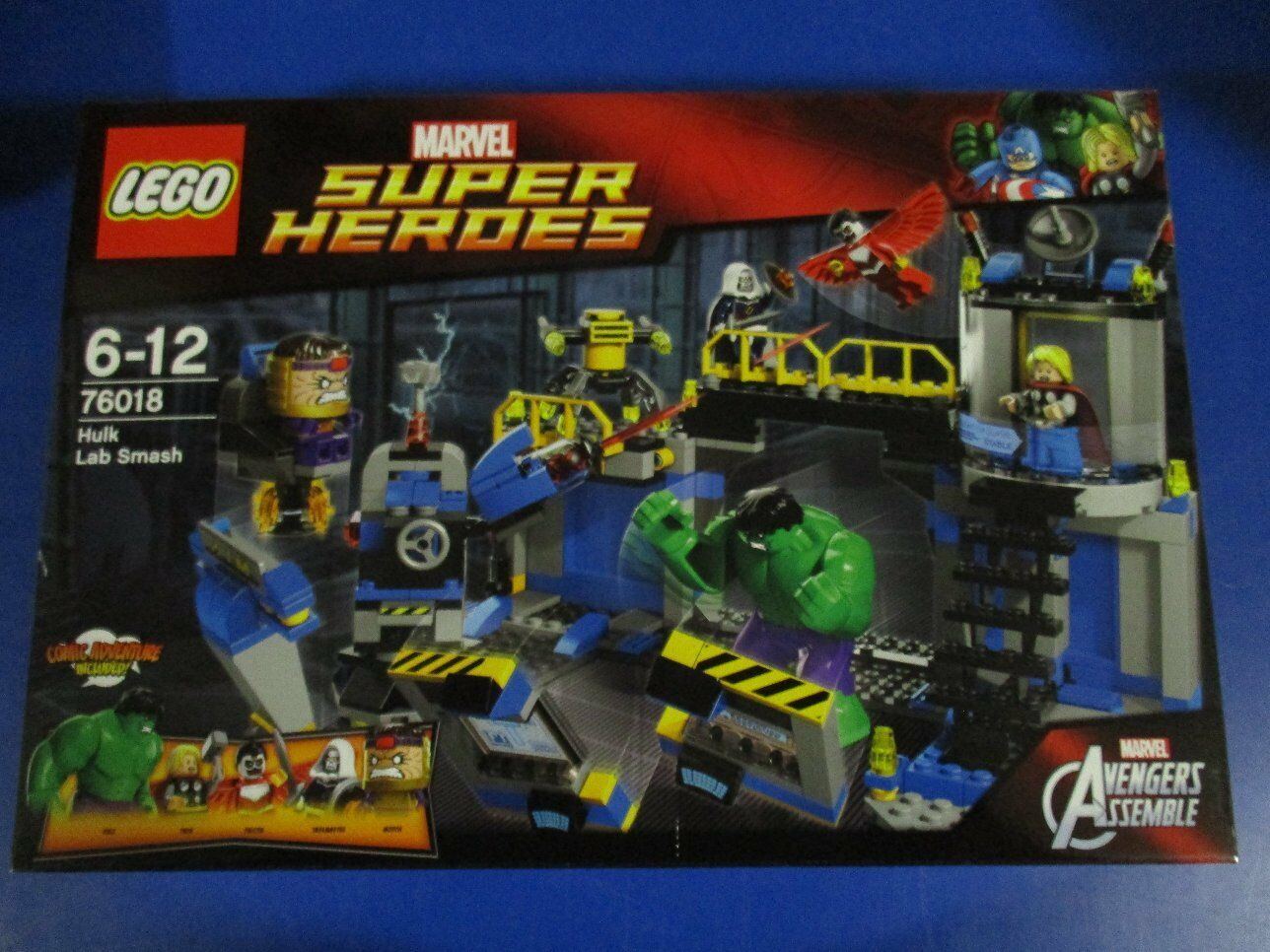 LEGO Super Heroes 76018 Hulks Labor Smash NEU OVP