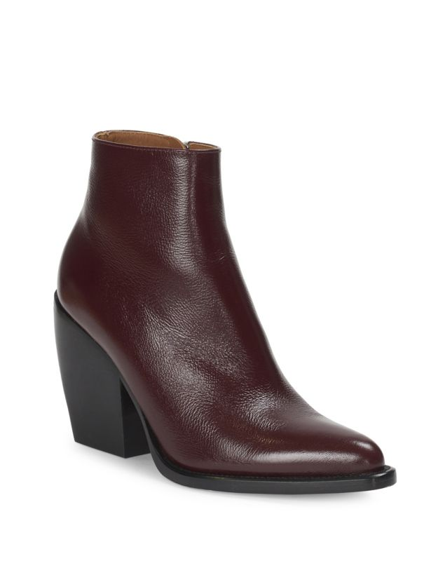 Chloé Rylee Leather Ankle Stiefel Größe 36 MSRP     950.00 22dff3