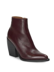 Chloe Rylee Cuero Tobillo botas precio minorista sugerido por el fabricante
