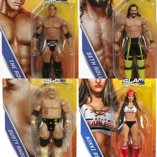 WWE Summerslam Series Mattel wrestling figures new/boxed