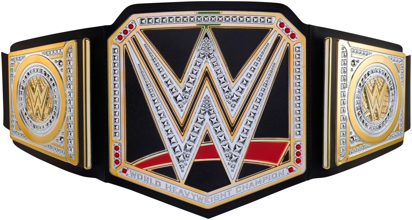 WWE Championship Title Belt - Wrestling Superstar Champ Kids Teen BRAND NEW