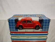 EDOCAR EM-8 VW VOLKSWAGEN BEETLE - RED 1:60? - EXCELLENT IN BOX