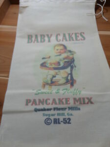 RL-52-BABY-CAKES-Flour-Bag-Sack-Feed-Seed-Novelty-Collectible