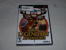BRAND NEW FACTORY SEALED PLAYSTATION 2 PS2 CABELAS LEGENDARY ADVENTURES GAME NFS