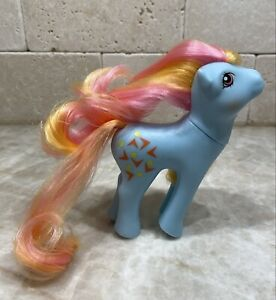 G1 Style Artistry Girl Pretty Mane - Custom Pony Hqg1c - Rhyme