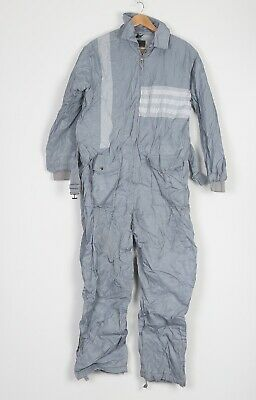 Full Snow Ski Suit Jacket Trousers All In One Uk 16 Xl 80's 90's To Invigorate Health Effectively b2b