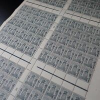 FEUILLE SHEET MONACO N°73 x150 MILLÉSIME 5 1925 NEUF ** MNH RARE!