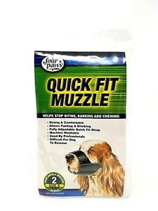 Size 0 Four Paws Quick Fit Dog Muzzle