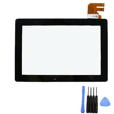 Touch Screen Digitizer Lens For ASUS Transformer Pad TF300T TF300 G01 Black Tool