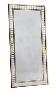 Antique-gold-Large-Full-Length-Mirror-Large-Leaner-Mirror-With-Gold-Frame-156x76