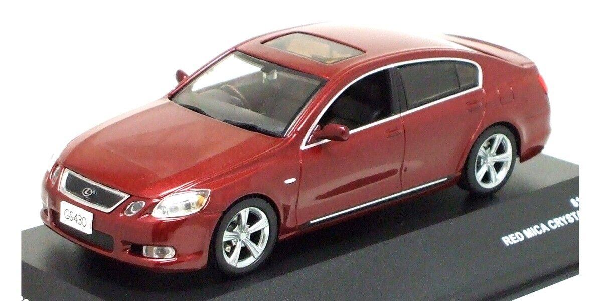 marca Kyosho J-Collection 1 1 1 43 escala Lexus GS430 2006 Rojo Mica Cristal Brillo  punto de venta