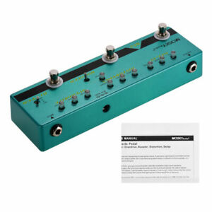 MOSKY-Multi-Effect-Guitar-DELAY-DISTORTION-BOOSTER-OVERDRIVE-BUFFER-Effect-Pedal