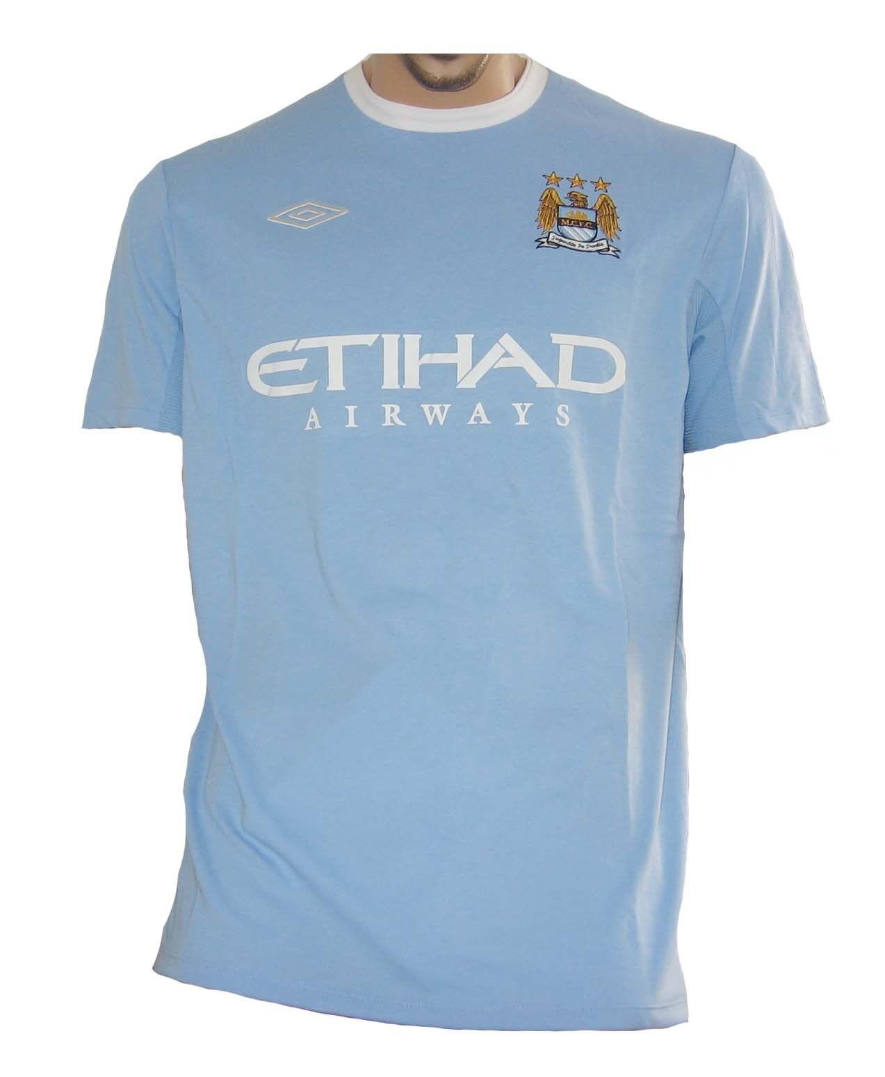 Manchester City Trikot Umbro 2009 10
