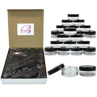 1000 Piece 5 Gram/5ml Plastic Makeup Cosmetic Lotion Cream Sample Jar Containers