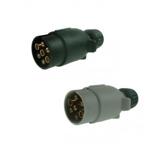 Towing Electrics 7 Pin 12n  U0026 12s Plastic Plugs For Car