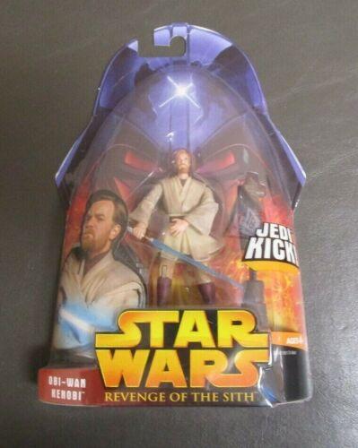 Obi-Wan Kenobi Jedi Kick 2005 Star Wars Revenge of the Sith revenge of the Sith Comme neuf on Card #27
