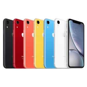 buy online 1753e 57e59 Details about Apple iPhone XR - 64GB 128GB 256GB - Verizon AT&T Sprint  T-Mobile Smartphone