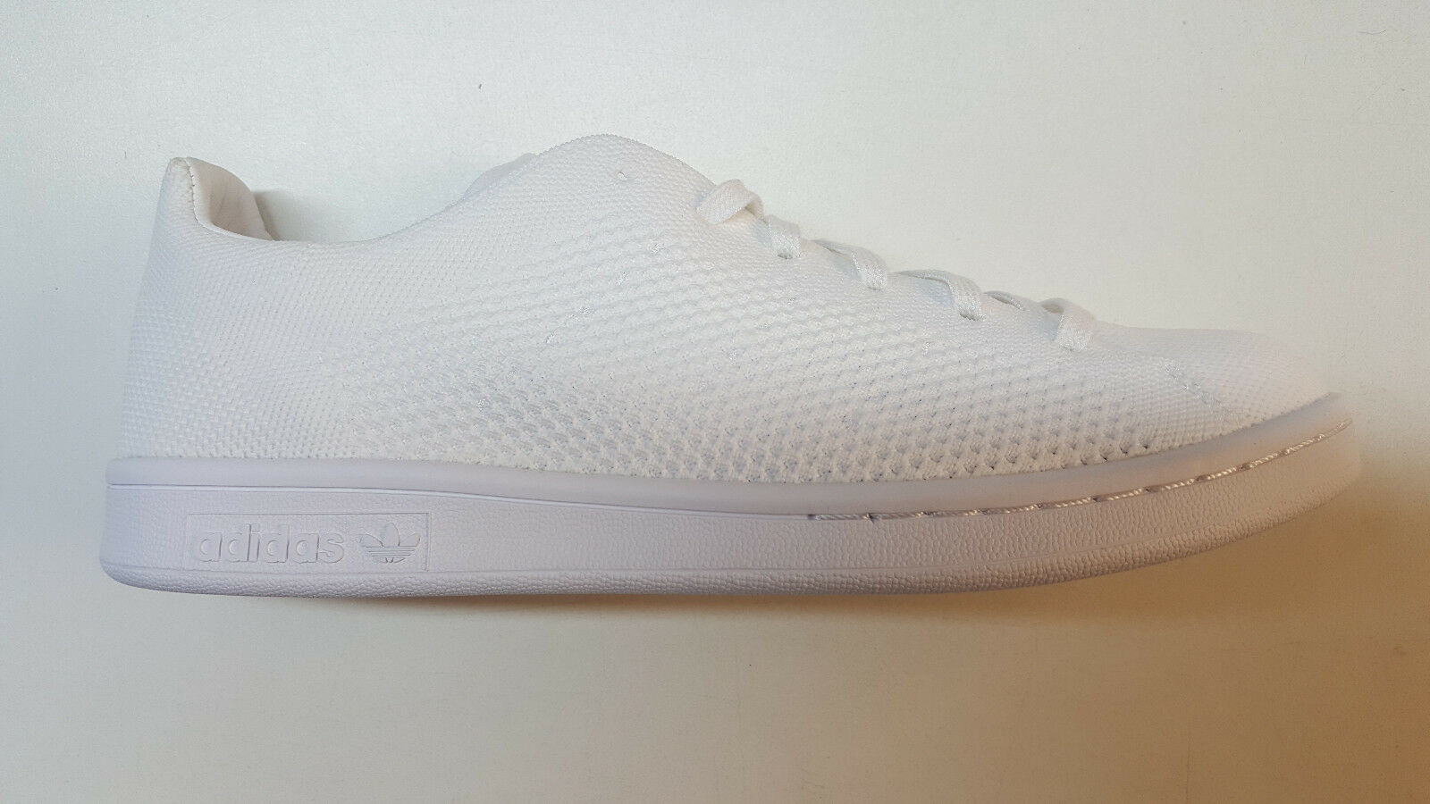 b4296bcd8ef durable modeling ADIDAS ORIGINALS STAN SMITH PRIMEKNIT ALL WHITE MENS SIZE  SNEAKERS RETRO BB3786