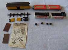 HO Scale Train-Miniature products 40' Wood Stock Car Parts Or Repair & A.T. & S.