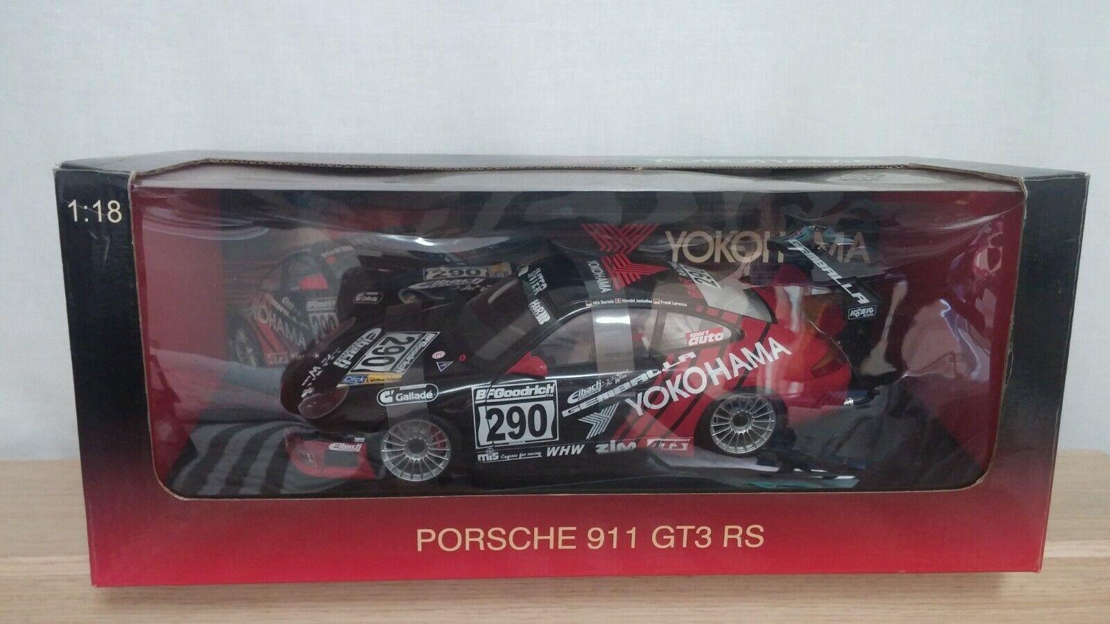 1  18 bilkonst Porsche 911 996 GT3 RS YOKOHAMA