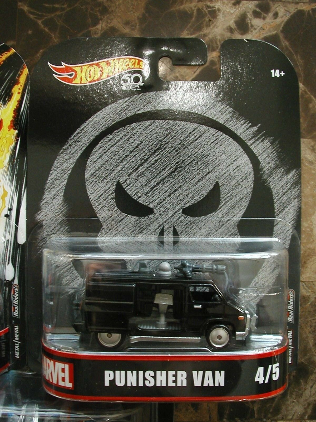 NEW Hot Wheels 50th MARVEL Set of 5 Real Riders Riders Riders DEADPOOL, Van, Milano, CHARGER 0d2d02