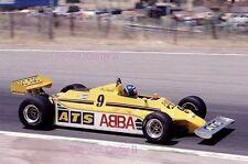 Slim Borgudd ATS HGS1 Spanish Grand Prix 1981 Photograph