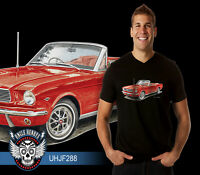 64' Ford Mustang Convertible Classic V8 Quality Tshirt