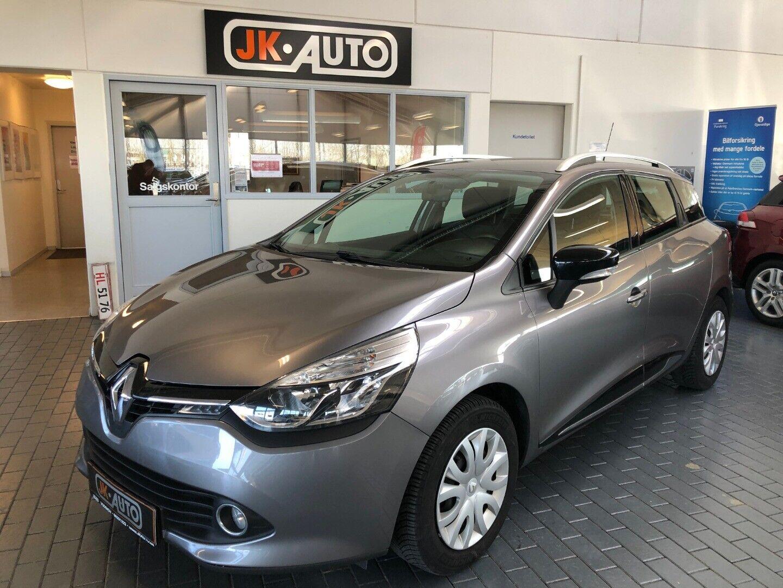 Renault Clio IV 1,5 dCi 75 Expression ST 5d - 79.800 kr.