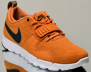 on sale d2d3f 61cf9 Image is loading Nike-SB-Trainerendor-Leather-men-lifestyle-casual-sneakers-