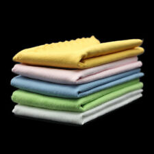 5pcs Microfiber Magic Instrument Clean Polish Cloth For Guitar Violin Piano Bass
