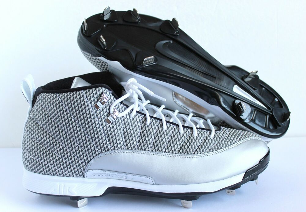 12 Jordan Nike Metal Retro Cleats Xii Air Baseball xIwwfqz6