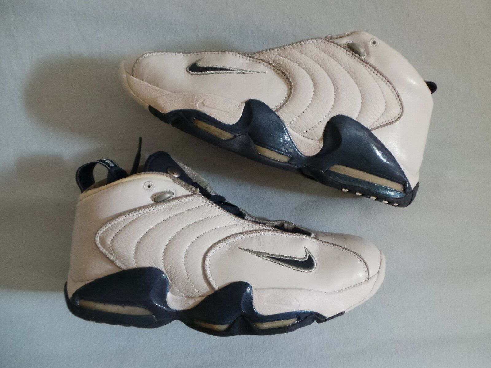 Nike Air Vis Zoom Viszoom Uptempo TB PE PS Samples size 11 white bluee OG DS NEW